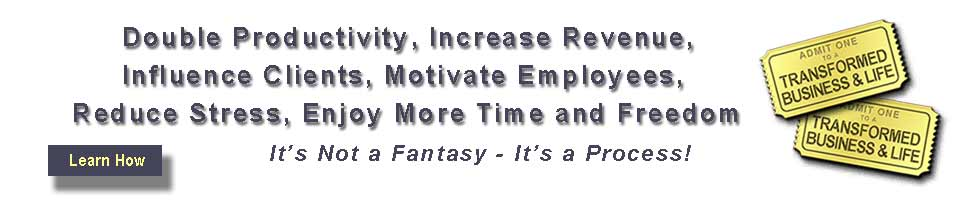 Time Management and Team Motivation are the two most powerful competitive advantages available to business!